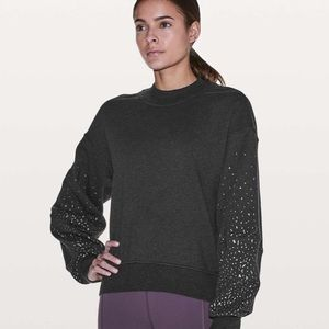 Lululemon/SoulCycle To The Beat Sweatshirt